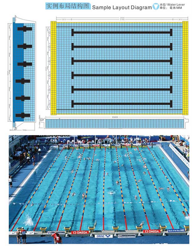 China swimming pool tile for Swimming pool ceramic tile
