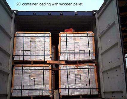 Container loading information of China Geoffering Ltd ceramic tiles ...