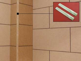 China Aluminium Corner Strips - Corner bead for ceramic tiles